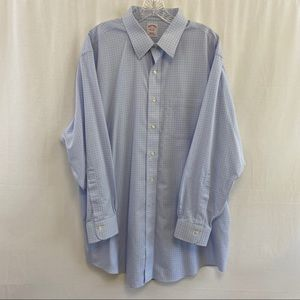 "Brooks Brothers dress shirt size 17.5""neck 33 EUC"